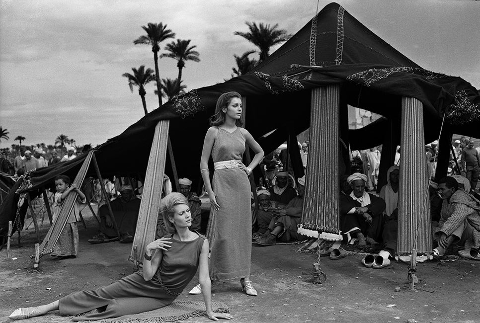 Morocco French Elle November 1962