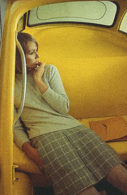 Duffy - French Elle Bubble Car - November 1966