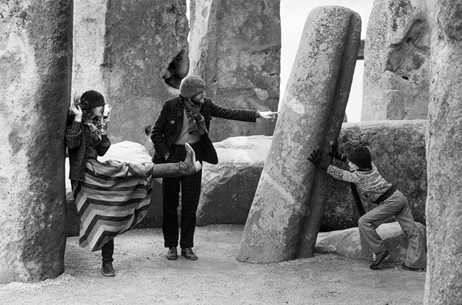 Duffy - French Elle Tweed - Stonehenge - October 1974