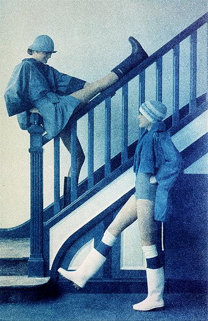 Duffy French Elle - Blue - March 1976