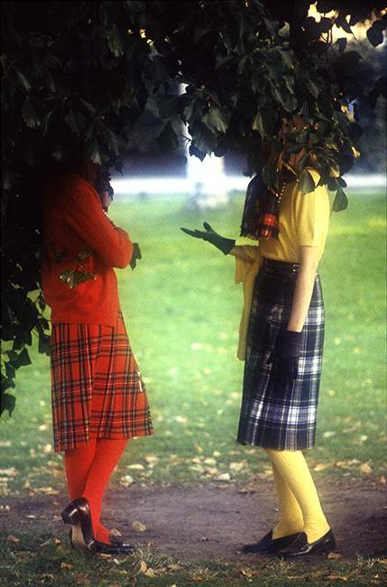 French Elle -Tartan Skirts