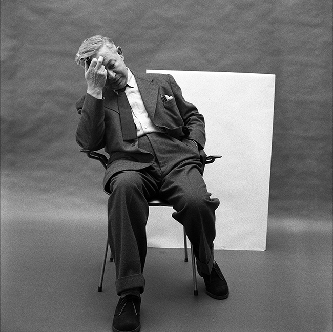 Arne Jacobsen 1959 Portrait