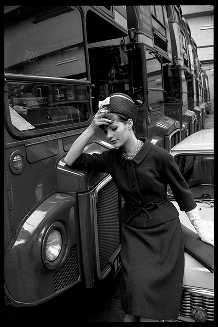LONDON BUS GARAGE - VOGUE - 1961