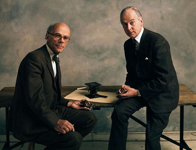 PROF SIR JOHN RANDALL & DR HARRY BOOT - SUNDAY TIMES 1975