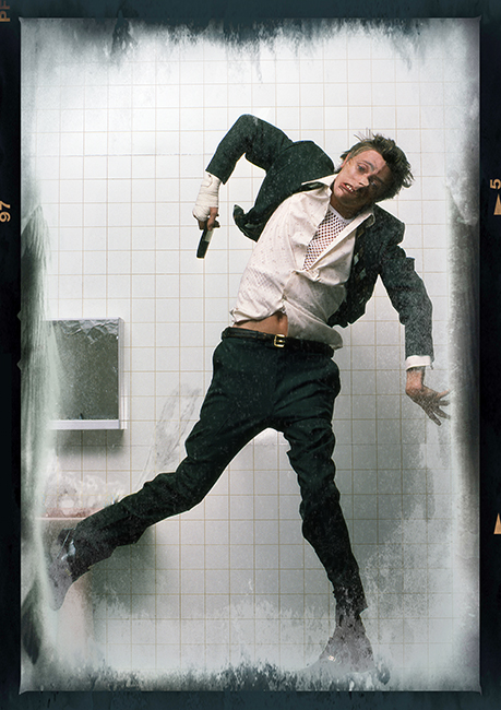 DAVID BOWIE - LODGER alternative album cover