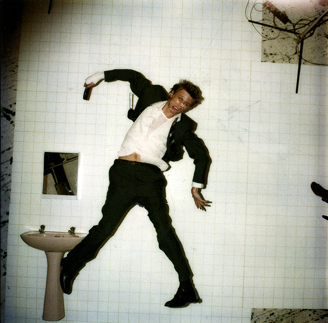 DAVID BOWIE - LODGER ORIGINAL POLAROID