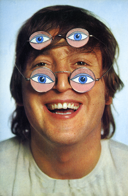 JOHN LENNON With 'Eye' Glasses - 1965