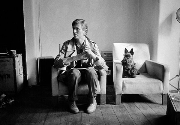 DAVID BOWIE SCOTTIE DOG London 1980