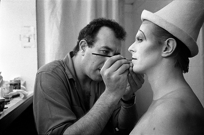 David Bowie - Scary Monsters MAKE UP With Richard Sharah 1980