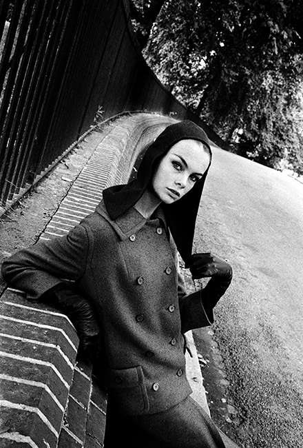 Jean Shrimpton - Vogue 1962