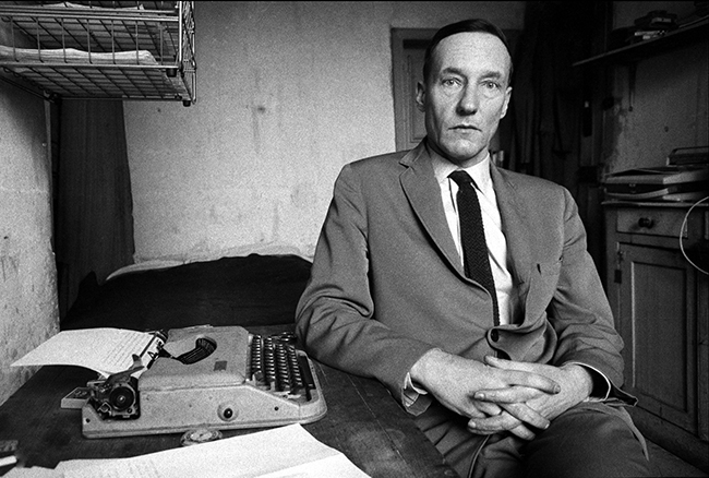 William Burroughs Portrait