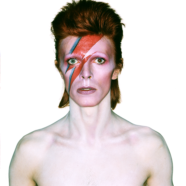 David Bowie - ALADDIN SANE EYES OPEN 1973