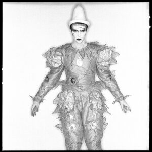 David Bowie Scary Monsters Pierrot Clown