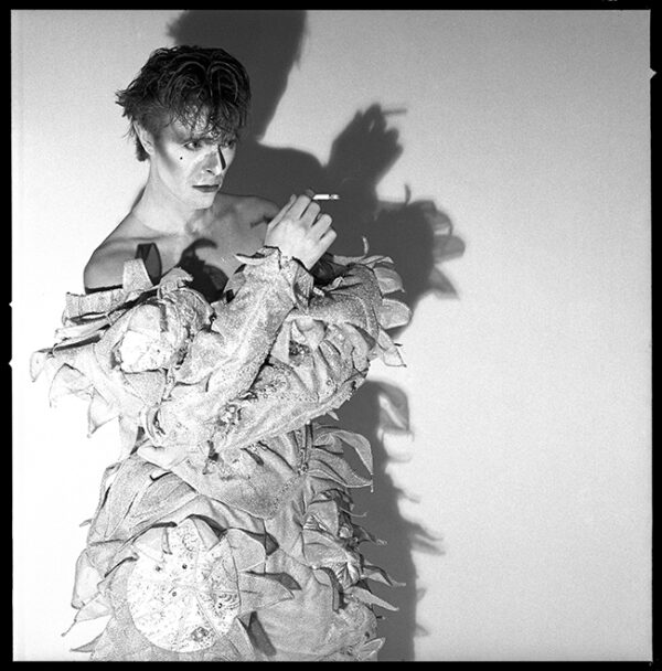 David Bowie Scary Monsters and Super Creeps Long Shadow