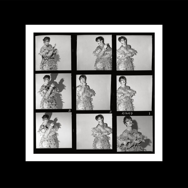 SCARY MONSTERS CONTACT SHEET BLACK