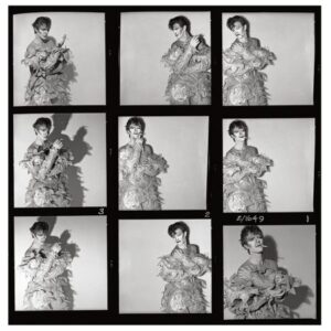 David Bowie - Scary Monsters Contact Sheet #1 - 1980