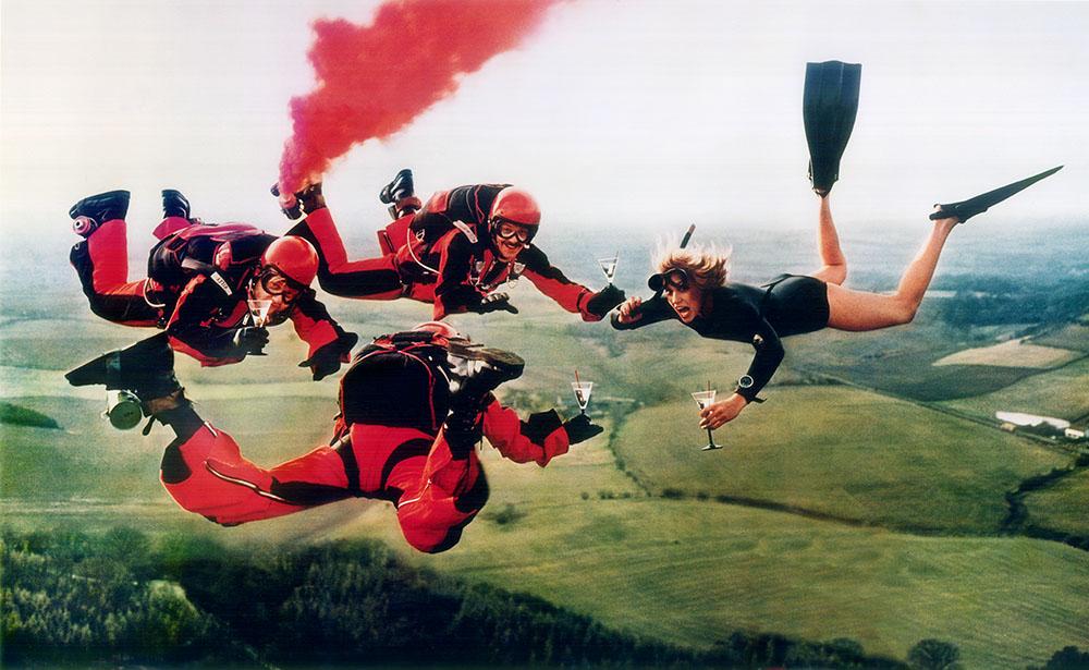 Smirnoff - Skydivers - 1978