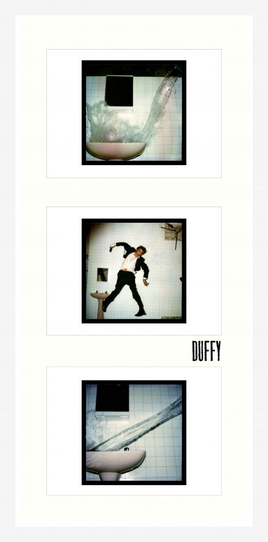 David Bowie Framed Lodger Polaroid Triptych