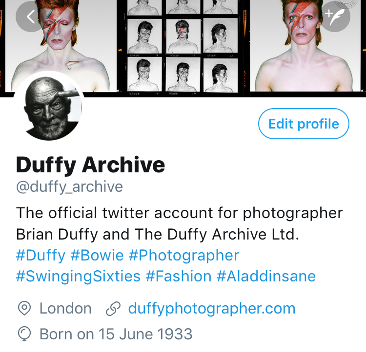 Duffy Archive Twitter