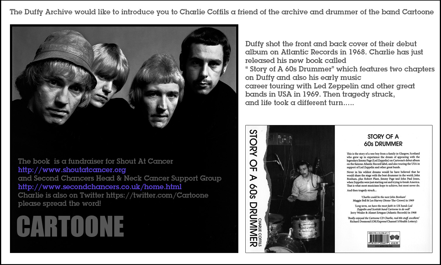 The Duffy Archive - Story of a 60's Drummer