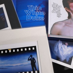 Thin White Duke Print & Five Sessions Book