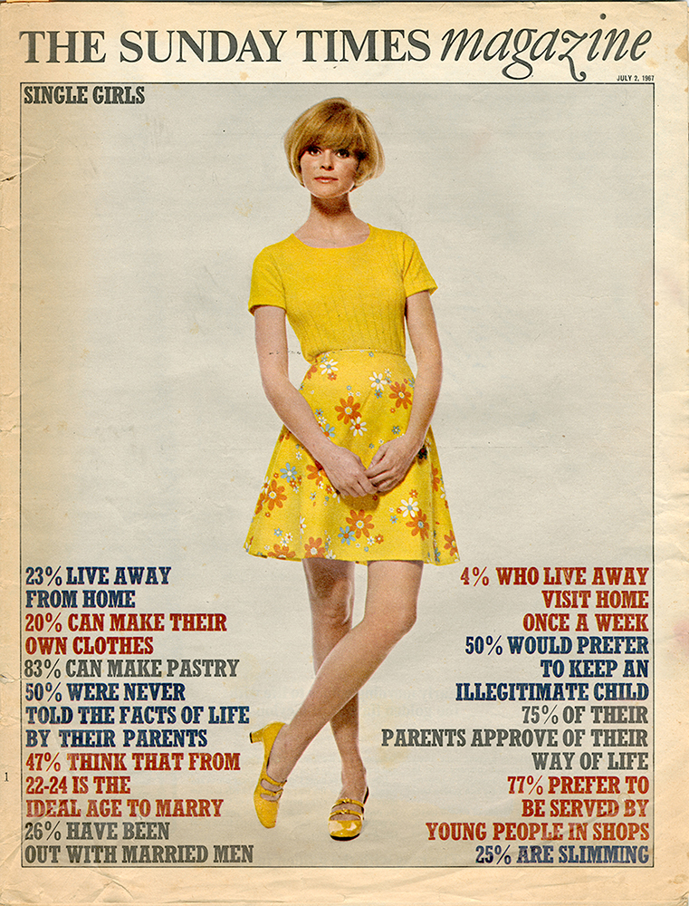 Sunday Times Magazine 2nd July 1967