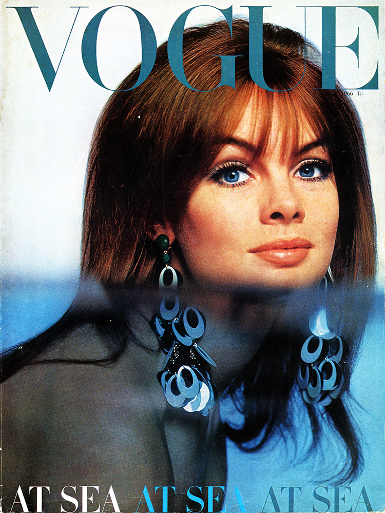 Vogue July 1966 Jean Shrimpton Cover Duffy