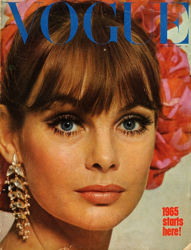 Vogue January 1965 Cover by Duffy - Jean Shrimpton