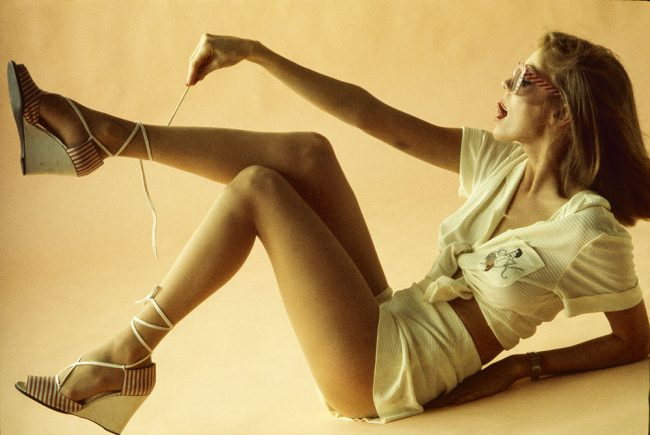 French Elle - Lace Up Shoes - 1975 Calendar
