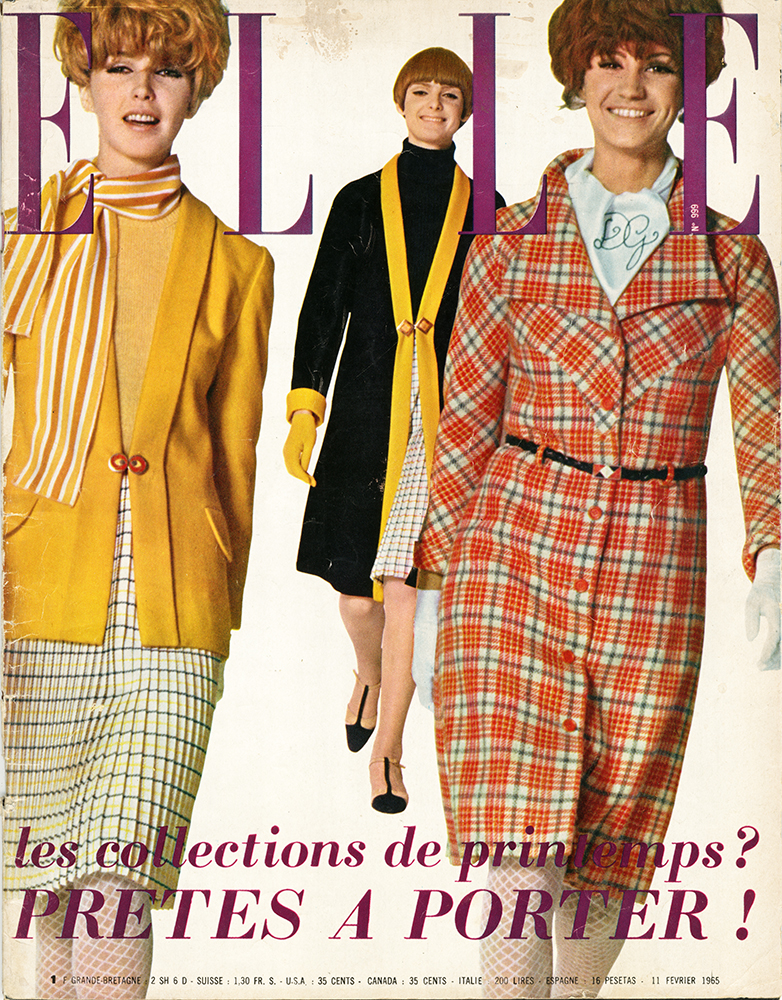 French Elle No.999 11th February 1965