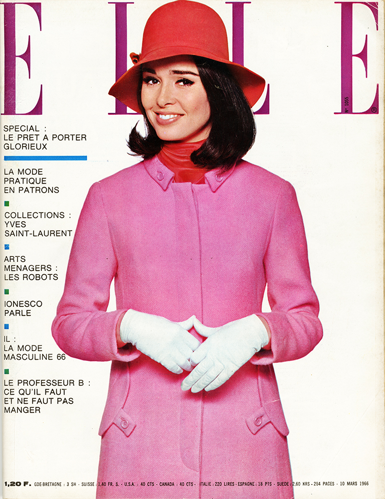 French Elle No.1055 10th March 1966