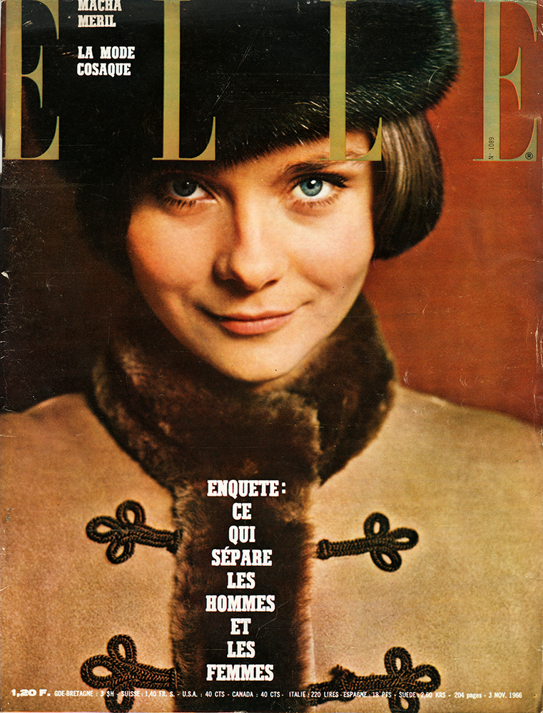 French Elle No.1089 3rd November 1966