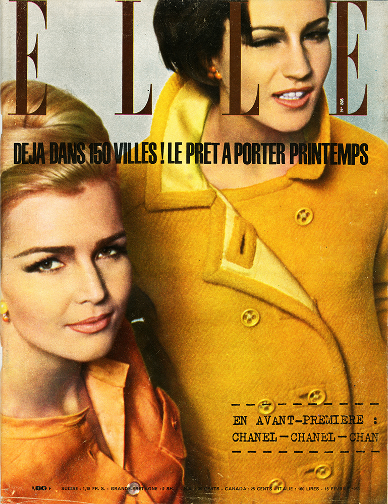 French Elle No.895 15th February 1963