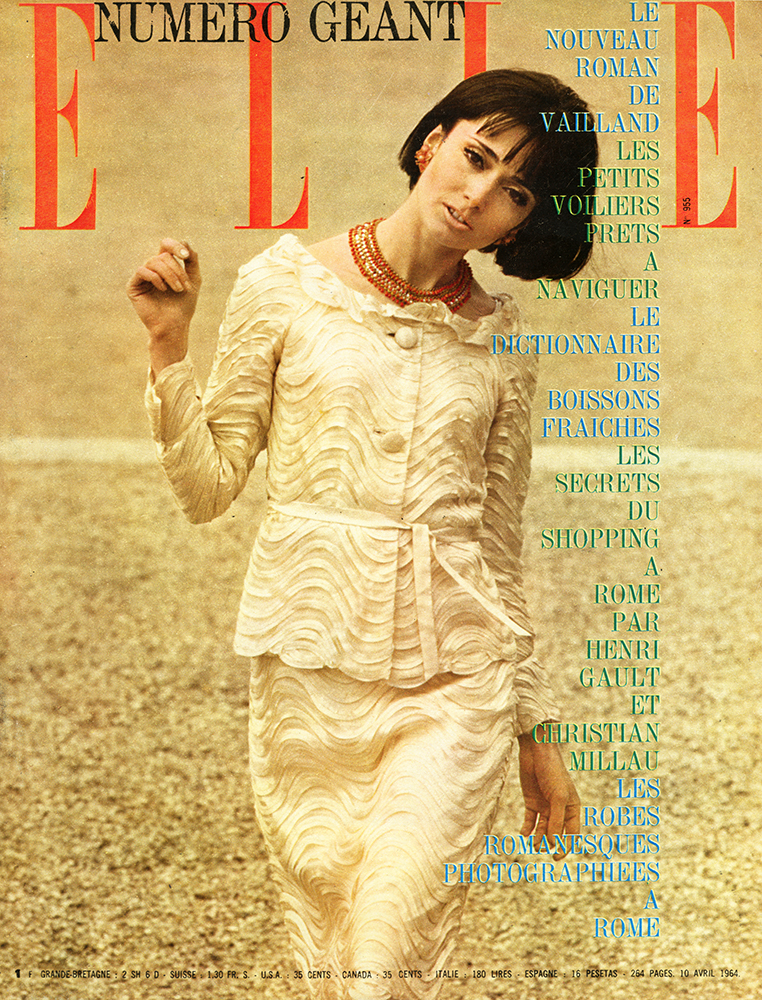 French Elle No.955 10th April 1964