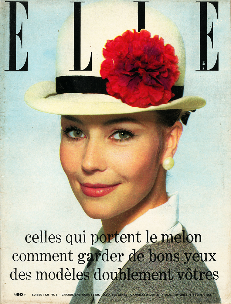 French Elle No.894 8th February 1963