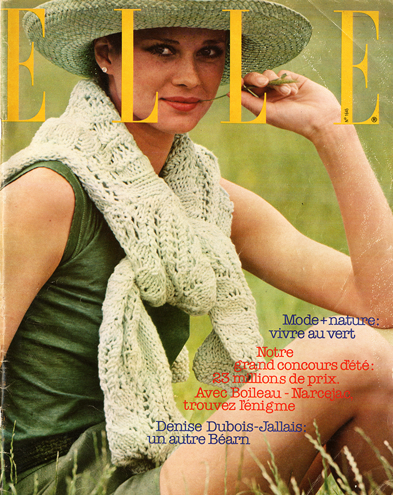 French Elle No. 1645 18th July 1977