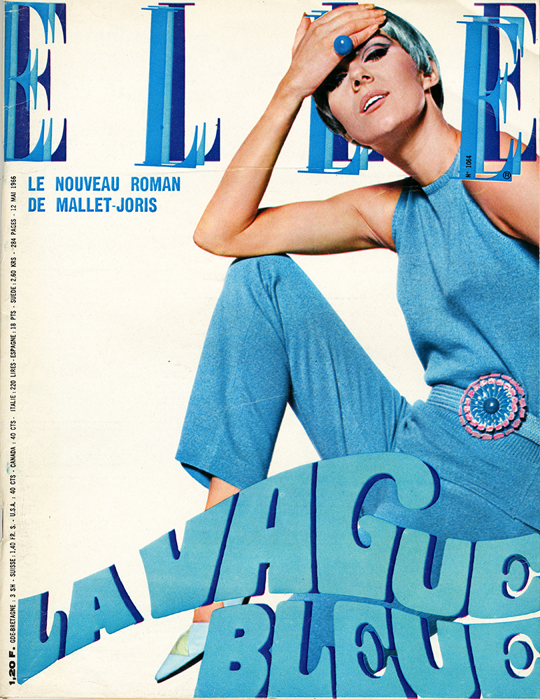 French Elle No. 1064 12th May 1966