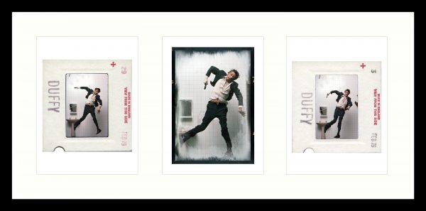 David Bowie Lodger Kodachrome Triptych