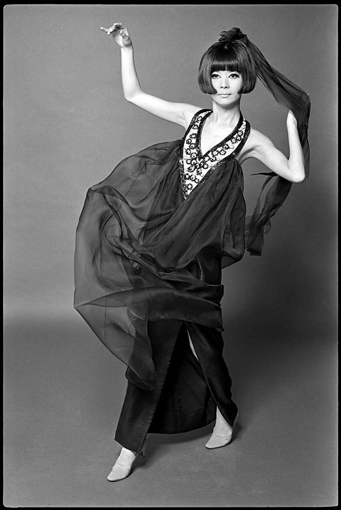 Hiroko Matsumoto - French Elle - 1966