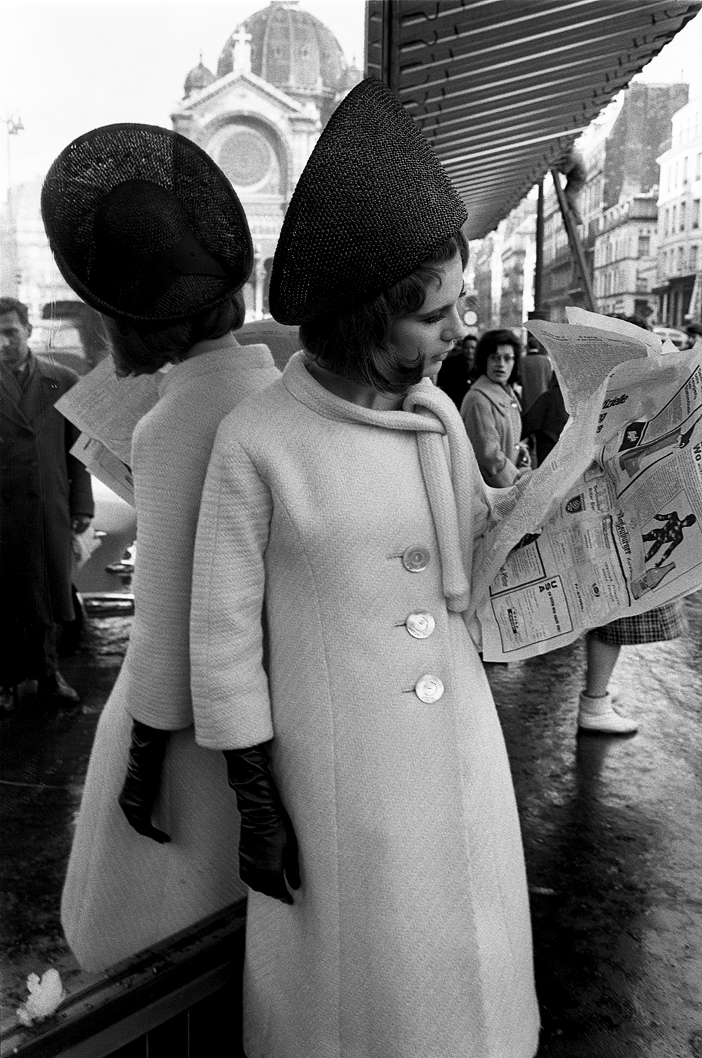 Duffy French Elle Paris 1962