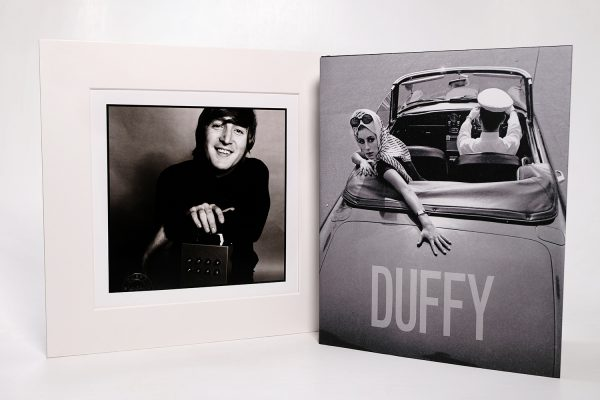 Duffy Photographer Monograph Book With Lennon Print