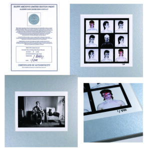 Limited Edition Bowie Silver Print Collection